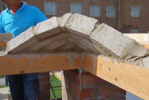 voûte mexicaine, pisé, Formaterre, chantier participatif, chantiers participatifs, béton de terre coulée, éconologie