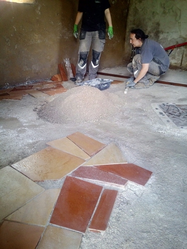 chaux-sable, chantier participatif, chantiers participatifs, ouverture, pisé, chape, Formaterre