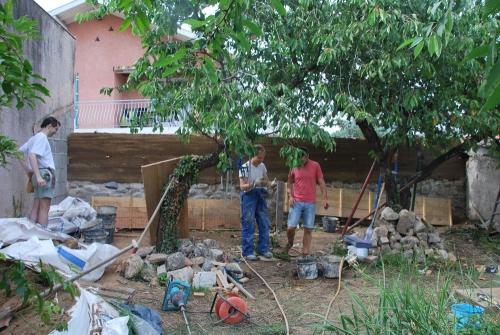 pisé, chantier participatif, Formaterre