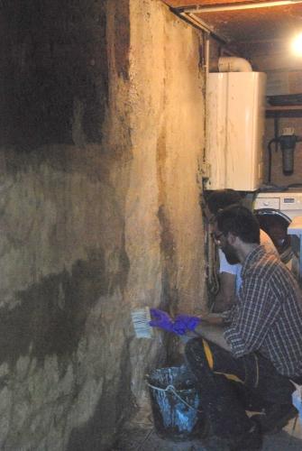 pisé, peinture écologique, chantier participatif, Formaterre, chaulage, accompagnement, chantiers participatifs