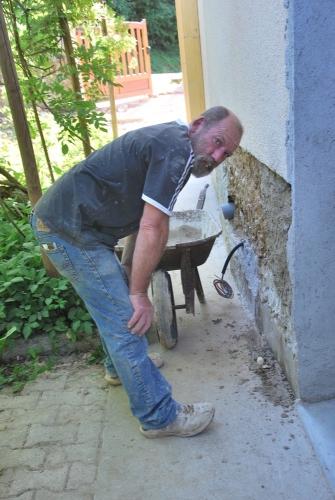 pisé, mortier, filasse de chanvre, chaux sable, chantier participatif, Formaterre, accompagnement, ,