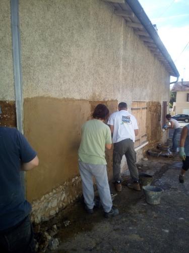 patrimoine, chantier participatif, chantiers participatifs, pisé, Formaterre