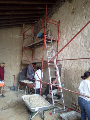 pisé, Formaterre, chantier participatif, chantiers participatifs, béton de terre coulée, éconologie